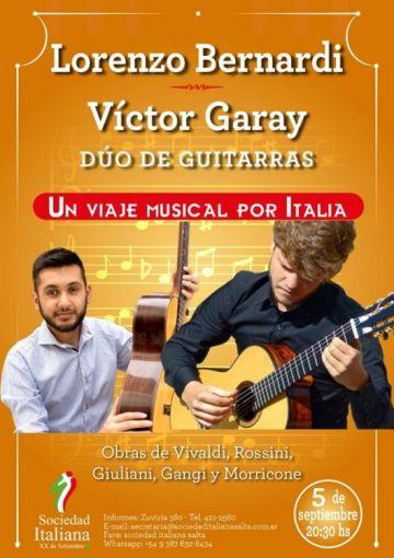 Lorenzo Bernardi y Víctor Garay en Salta
