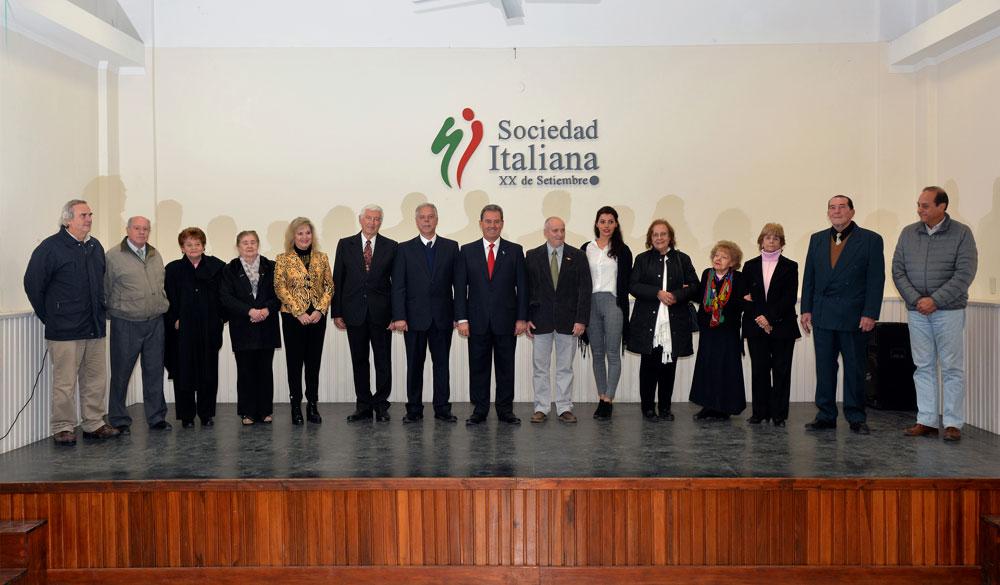 Comisión directiva actual de la Sociedad Italiana en Salta, Argentina