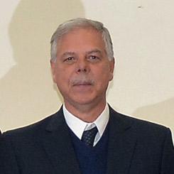 Secretario Franco Liberatore de la Sociedad Italiana en Salta, Argentina