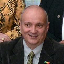 Vice-Presidente Franco Crivelli de la Sociedad Italiana en Salta, Argentina