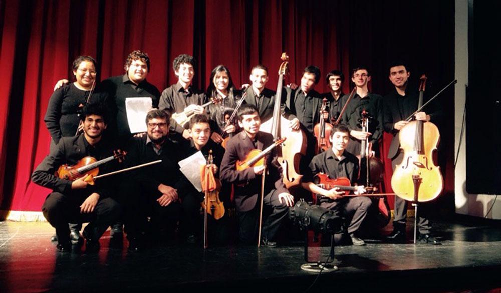 Orquesta de jóvenes de la Sociedad Italiana en Salta, Argentina