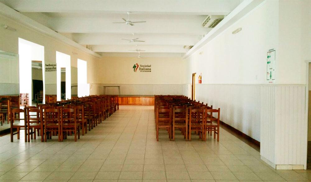 Salón de Eventos Principal de la Sociedad Italiana en Salta, Argentina
