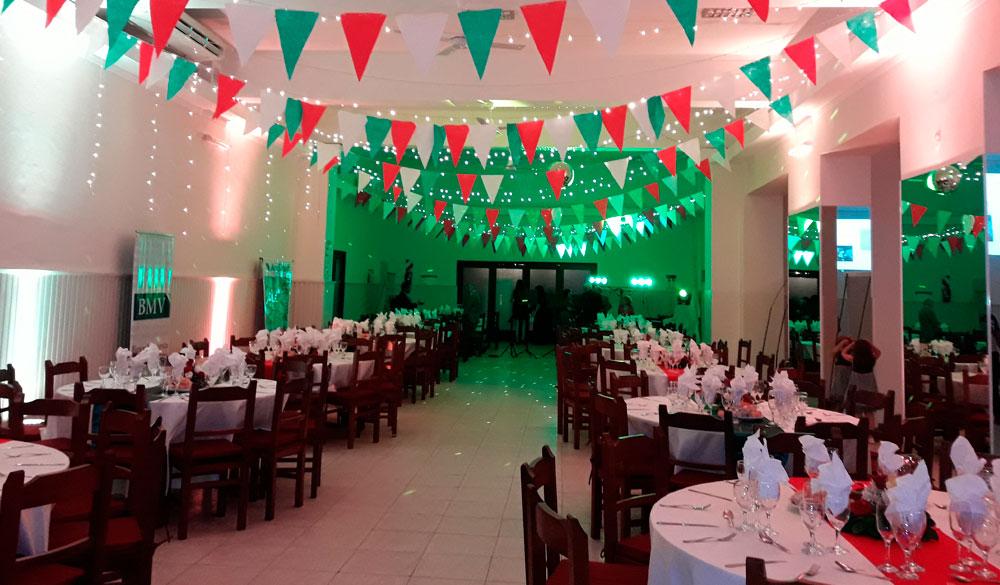 Salón de Eventos Buffet de la Sociedad Italiana en Salta, Argentina