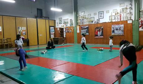Clases de Artes Marciales de la Sociedad Italiana en Salta, Argentina