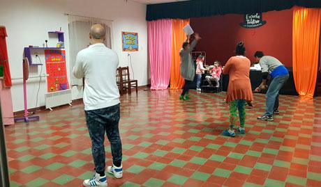 Escuela de Teatro La Morisqueta de la Sociedad Italiana en Salta, Argentina